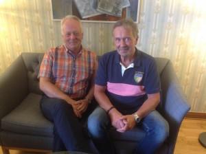 Göran Dahlström och Peter Nille Nilson